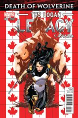 DEATH OF WOLVERINE THE LOGAN LEGACY #2 VARIANT