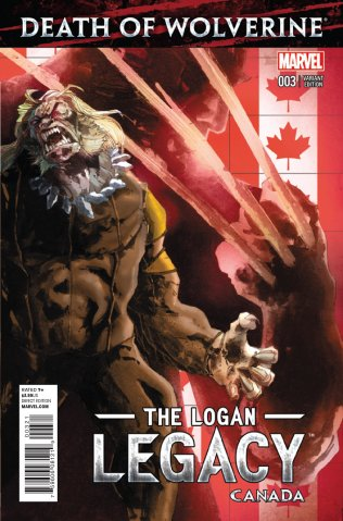 DEATH OF WOLVERINE THE LOGAN LEGACY #3 VARIANT
