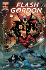 FLASH GORDON #6 80TH ANNIVERSARY COVER