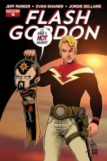 FLASH GORDON #6 SUB COVER