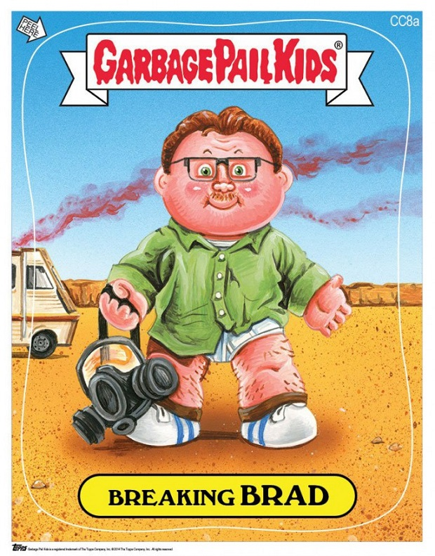 Garbage Pail Kids Breaking Brad