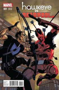 HAWKEYE VS. DEADPOOL #1 VARIANT