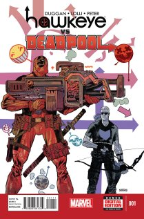 HAWKEYE VS. DEADPOOL #1