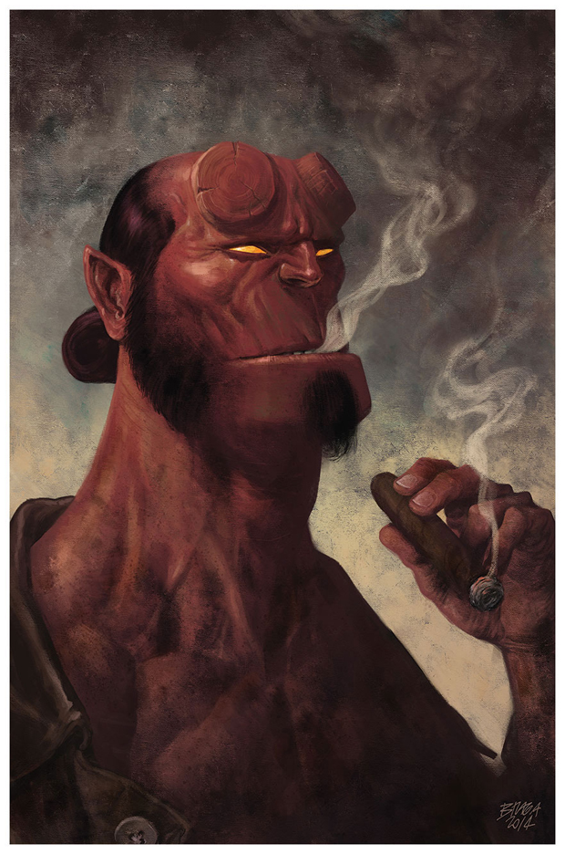 Hellboy by Marcelo Braga