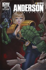JUDGE DREDD ANDERSON PSI-DIVISION #3 SUB COVER