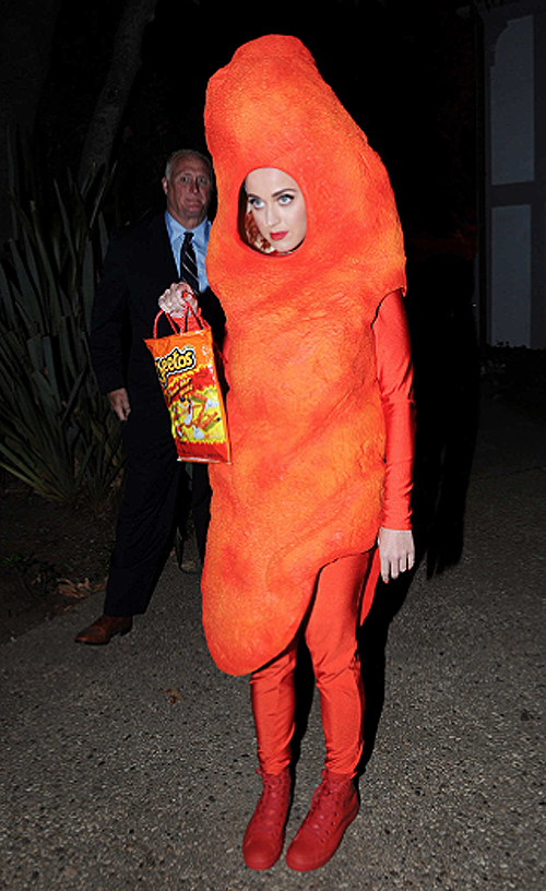 Katy Perry Flaming Hot Cheeto