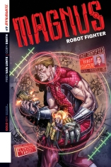 MAGNUS ROBOT FIGHTER #7 SMITH COVER