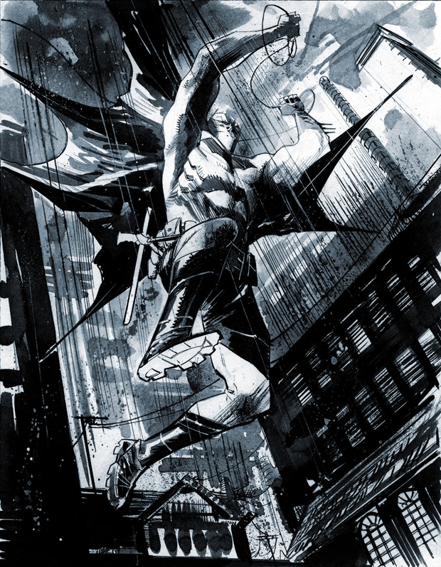 NYCC 2014 Batman Commissions by <a href=