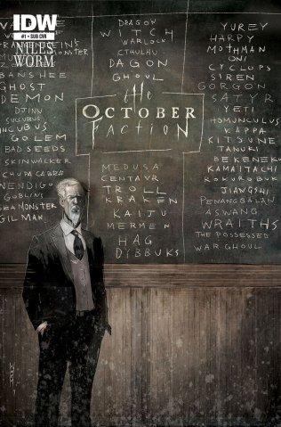 OCTOBER FACTION #1 VARIANT