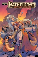 PATHFINDER CITY OF SECRETS #6 LIMITED EDITION COVER