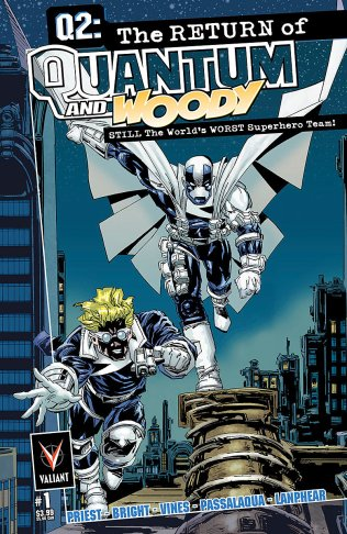 Q2 THE RETURN OF QUANTUM AND WOODY #1