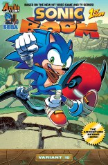SONIC BOOM #1 VARIANT D