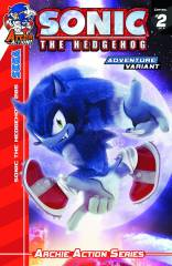SONIC THE HEDGEHOG #265 VARIANT