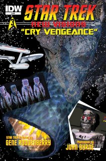 STAR TREK NEW VISIONS CRY VENGEANACE