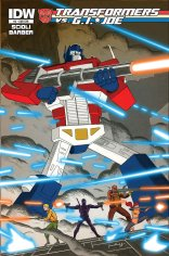 TRANSFORMERS VS. G.I. JOE #3 VARIANT