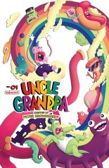 UNCLE GRANDPA #1 COVER B