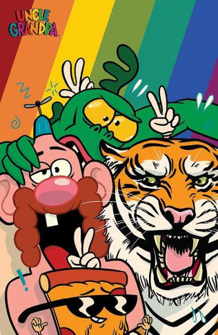 UNCLE GRANDPA #1 COVER C
