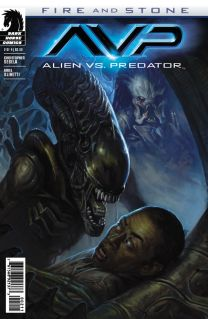 ALIEN VS. PREDATOR FIRE AND STONE #2
