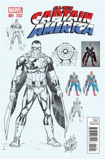ALL-NEW CAPTAIN AMERICA #1 VARIANT C