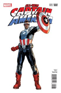 ALL-NEW CAPTAIN AMERICA #1 VARIANT E