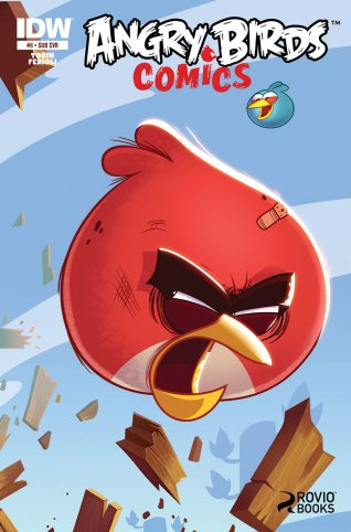 ANGRY BIRDS COMICS #6 SUB COVER