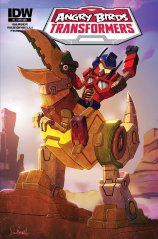 ANGRY BIRDS TRANSFORMERS #1 SUB COVER