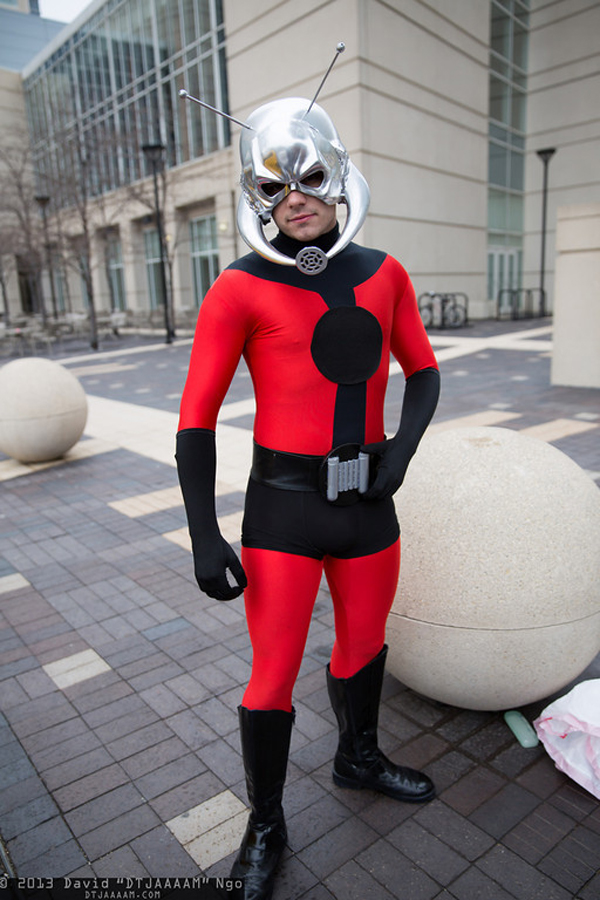 "Ant Man cosplay Photo by David ""DTJAAAAM"" Ngo"