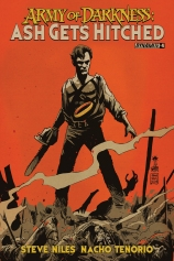 ARMY OF DARKNESS ASH GETS HITCHED #4 FRANCAVILLA COVER