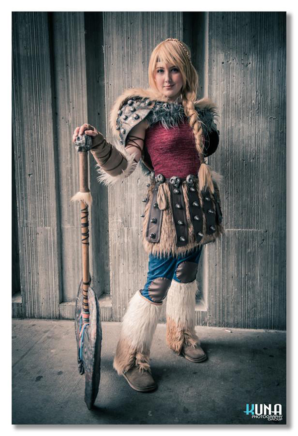 Astrid Cosplay by Tarah-Rex