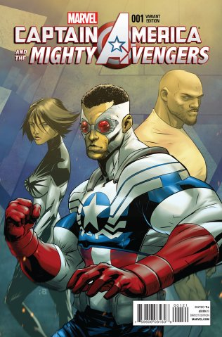 CAPTAIN AMERICA AND THE MIGHTY AVENGERS #1 VARIANT A