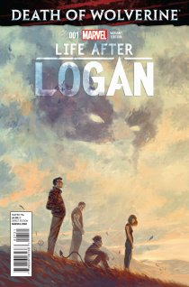 DEATH OF WOLVERINE LIFE AFTER LOGAN #1 VARIANT