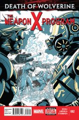DEATH OF WOLVERINE THE WEAPON X PROGRAM #2