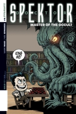 DOCTOR SPEKTOR MASTER OF THE OCCULT #4 HAESER COVER