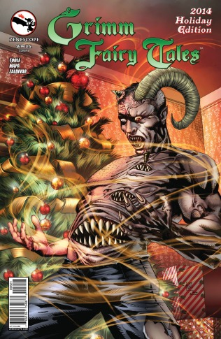 GRIMM FAIRY TALES 2014 HOLIDAY EDITION COVER B