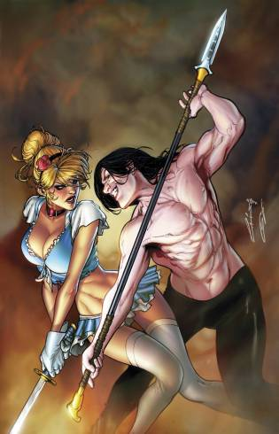 GRIMM FAIRY TALES CINDERELLA #1 COVER B