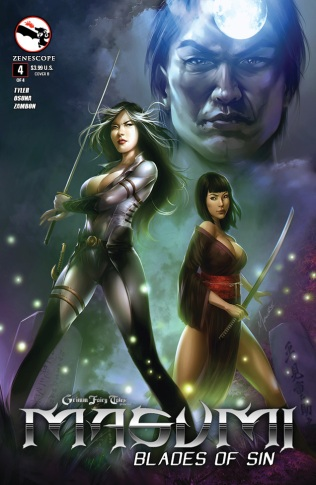 GRIMM FAIRY TALES MASUMI BLADES OF SIN #4 COVER B