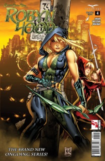 GRIMM FAIRY TALES ROBYN HOOD #4 COVER A