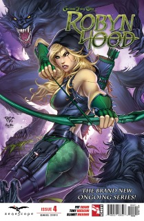 GRIMM FAIRY TALES ROBYN HOOD #4 COVER B