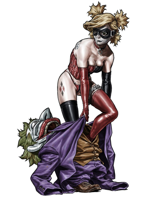 Harley Quinn Statue Design by Lee Bermejo