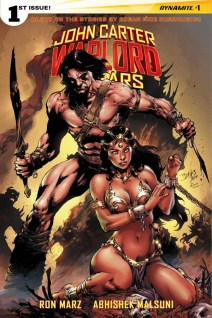 JOHN CARTER WARLORD OF MARS #1 BENES COVER