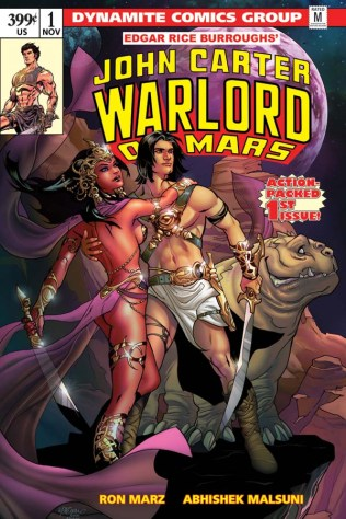 JOHN CARTER WARLORD OF MARS #1 LUPACCHINO COVER
