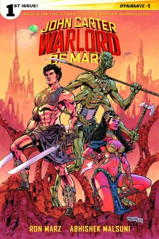 JOHN CARTER WARLORD OF MARS #1 MALSUNI COVER