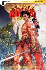 JOHN CARTER WARLORD OF MARS #1 SEARS COVER