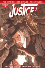 JUSTICE INC. #4 ROSS COVER