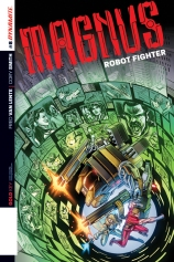 MAGNUS ROBOT FIGHTER #8 SUB COVER
