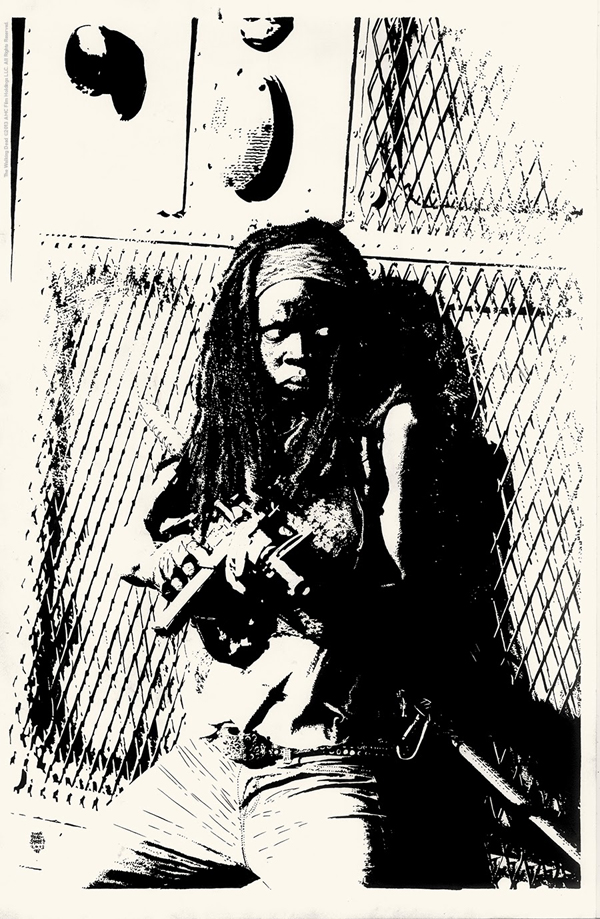 Michonne by Tim Bradstreet