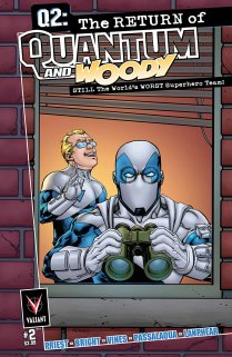 Q2 THE RETURN OF QUANTUM AND WOODY #2 VARIANT A