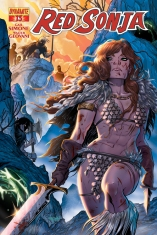 RED SONJA #13 DELIZ COVER