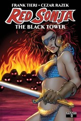 RED SONJA THE BLACK TOWER #3