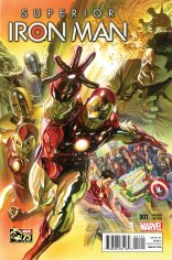 SUPERIOR IRON MAN #1 VARIANT C